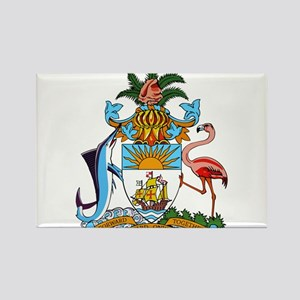 Bahamas Coat Of Arms Rectangle Magnet