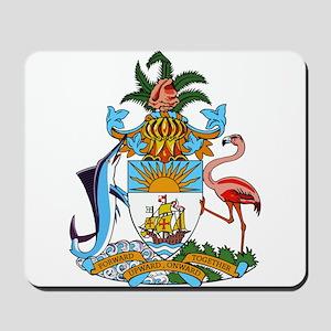 Bahamas Coat Of Arms Mousepad