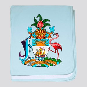 Bahamas Coat Of Arms baby blanket
