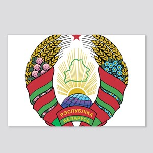 Belarus Coat Of Arms Postcards (Package of 8)