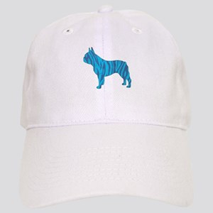 Blue Tiger Frenchie Cap