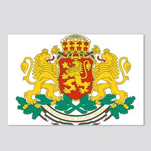 Bulgaria Coat Of Arms Postcards (Package of 8)