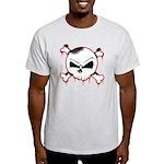 Skull n' X-bones Ash Grey T-Shirt