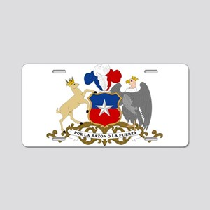 Chile Coat Of Arms Aluminum License Plate