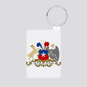 Chile Coat Of Arms Aluminum Photo Keychain