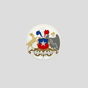 Chile Coat Of Arms Mini Button