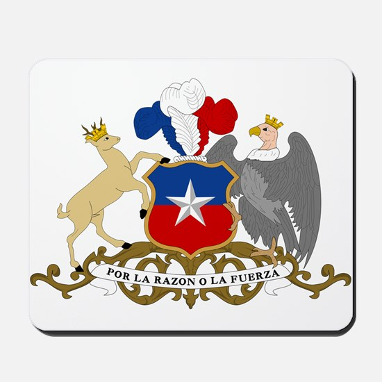 Chile Coat Of Arms Mousepad