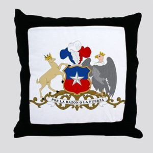 Chile Coat Of Arms Throw Pillow