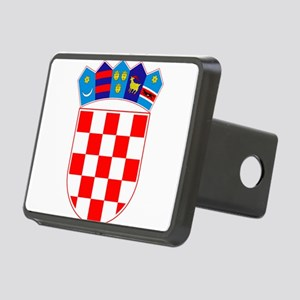 Croatia Coat Of Arms Rectangular Hitch Cover