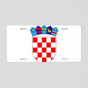 Croatia Coat Of Arms Aluminum License Plate