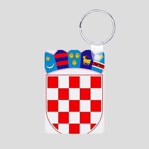 Croatia Coat Of Arms Aluminum Photo Keychain