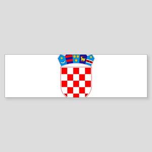 Croatia Coat Of Arms Sticker (Bumper)
