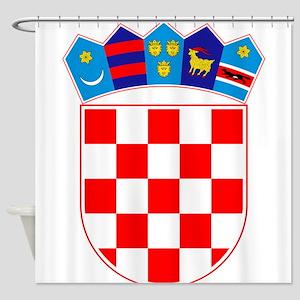 Croatia Coat Of Arms Shower Curtain