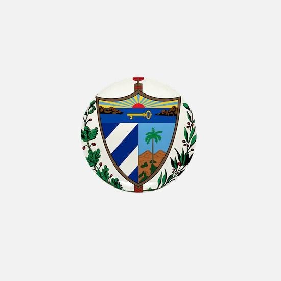 Cuba Coat Of Arms Mini Button