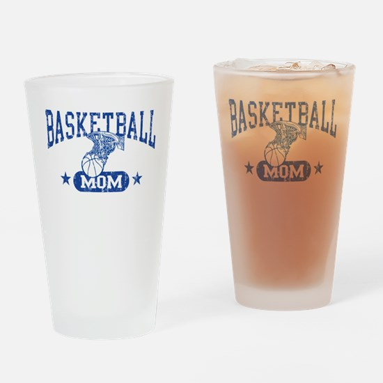 Basketball Mom Drinking Glass