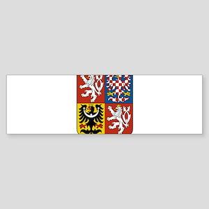 Czech Republic Coat Of Arms Sticker (Bumper)