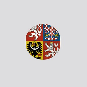 Czech Republic Coat Of Arms Mini Button