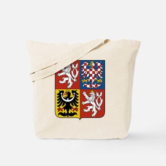 Czech Republic Coat Of Arms Tote Bag