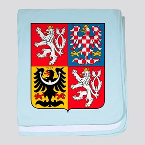 Czech Republic Coat Of Arms baby blanket