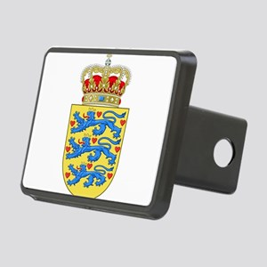 Denmark Coat Of Arms Rectangular Hitch Cover