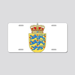 Denmark Coat Of Arms Aluminum License Plate