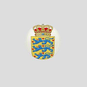 Denmark Coat Of Arms Mini Button