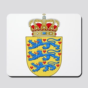 Denmark Coat Of Arms Mousepad