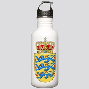 Denmark Coat Of Arms Stainless Water Bottle 1.0L