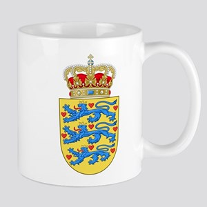 Denmark Coat Of Arms Mug