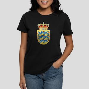 Denmark Coat Of Arms Women's Dark T-Shirt