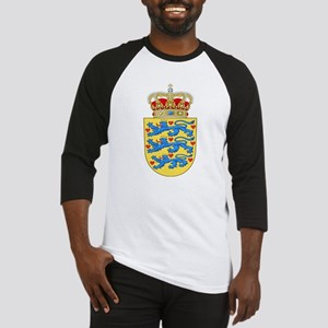 Denmark Coat Of Arms Baseball Jersey