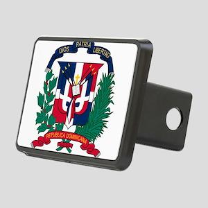 Dominican Republic Coat Of Arms Rectangular Hitch
