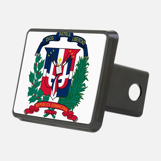 Dominican Republic Coat Of Arms Hitch Cover