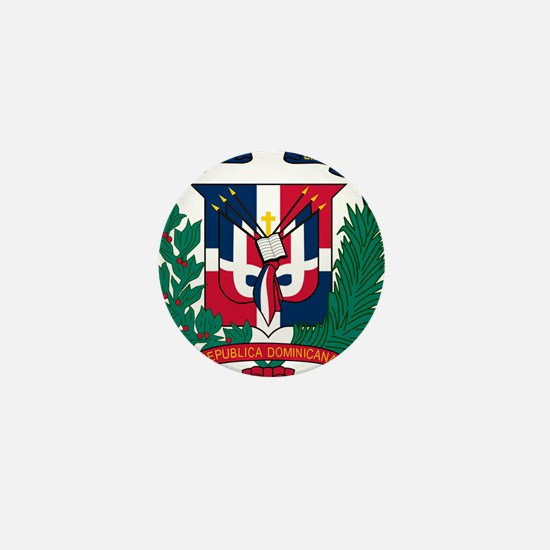 Dominican Republic Coat Of Arms Mini Button
