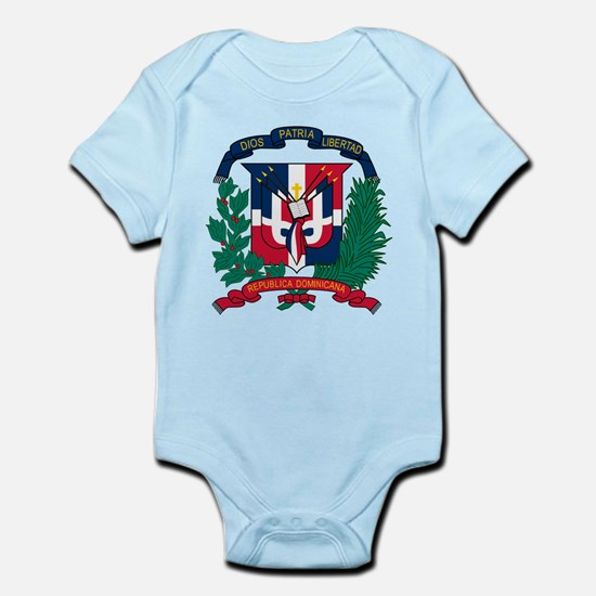 Dominican Republic Coat Of Arms Infant Bodysuit
