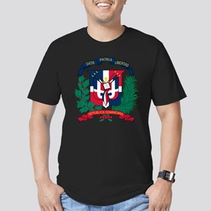 Dominican Republic Coat Of Arms Men's Fitted T-Shi