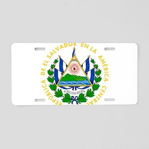 El Salvador Coat Of Arms Aluminum License Plate