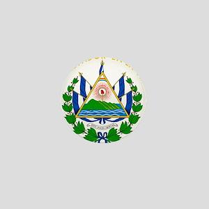 El Salvador Coat Of Arms Mini Button