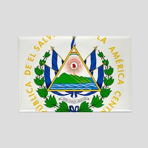 El Salvador Coat Of Arms Rectangle Magnet