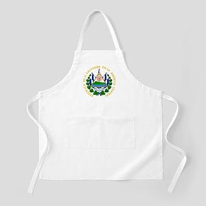 El Salvador Coat Of Arms Apron