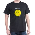 Smile you're Black T-Shirt
