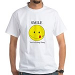 Smile you're White T-Shirt