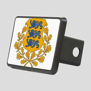 Estonia Coat Of Arms Rectangular Hitch Cover