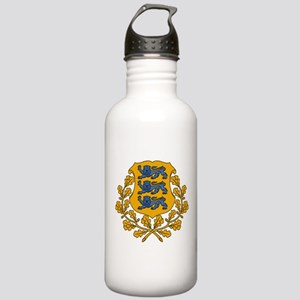 Estonia Coat Of Arms Stainless Water Bottle 1.0L