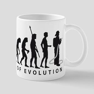 Evolution Feuerwehr 2c Mug