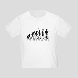 Evolution Feuerwehr 2c Toddler T-Shirt