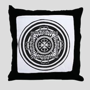 Double Dorje Throw Pillow