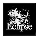 Eclipse 2017 Tile Coaster