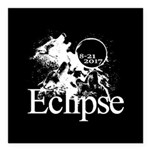Eclipse 2017 Square Car Magnet 3