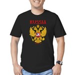 Rossia2 Men's Fitted T-Shirt (dark)